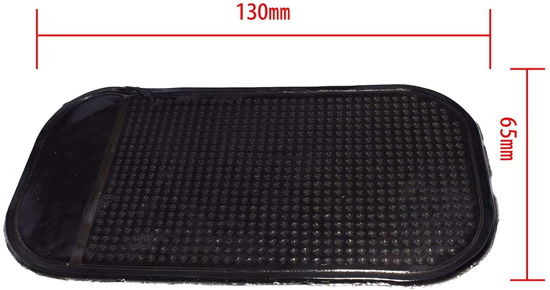 Car Magic Anti-Slip Mat Dashboard Sticky Pad Non-Slip Mat GPS Phone Holder (002Black)