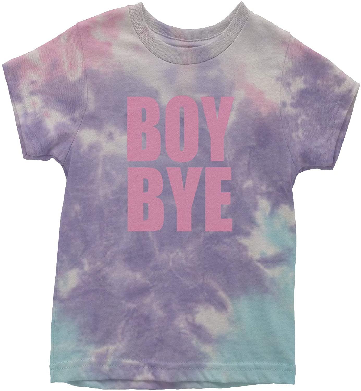 Expression Tees Boy Bye Pink Lemonade Youth Tie-Dye T-Shirt