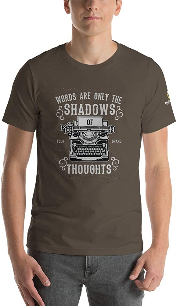 AnarchoCoffee Shadow of Thoughts Short-Sleeve Unisex T-Shirt