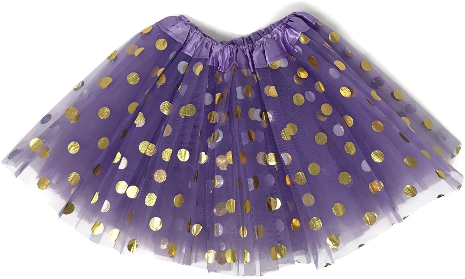 Rush Dance Ballerina Girls Dress-Up Princess Fairy Polka Dots & Ribbon Tutu