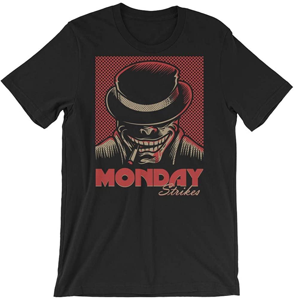 Monday Strikes Joker Short-Sleeve Unisex T-Shirt