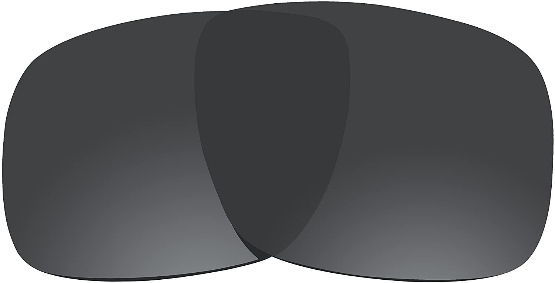 BVANQ Polarized Lenses Replacement for Oakley Holbrook Sunglasses (Deep Black)