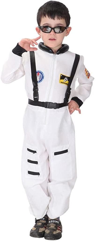 YOLSUN Astronaut Costume, Role Play for Kid, Pretend Play Dress