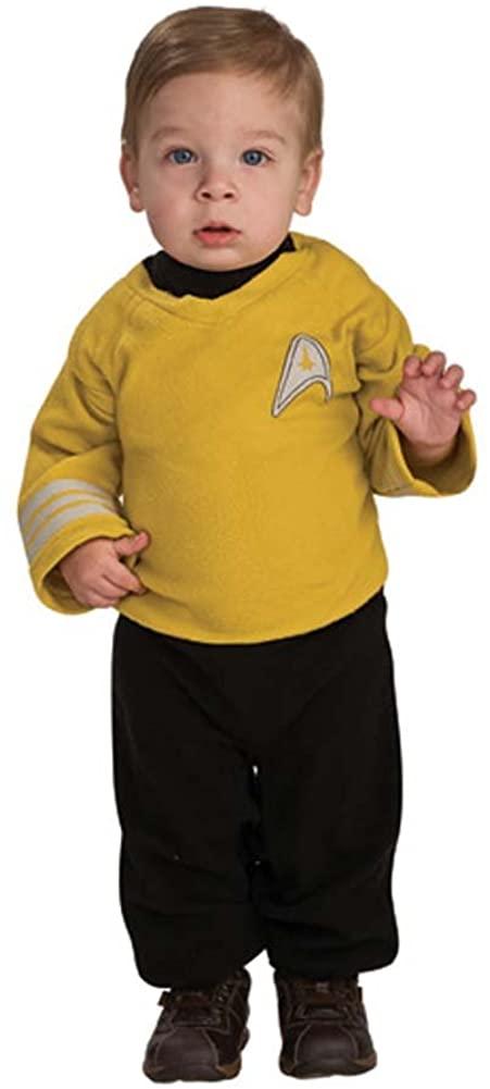 Rubie's Captain Kirk Baby Infant Costume - Infant Gold