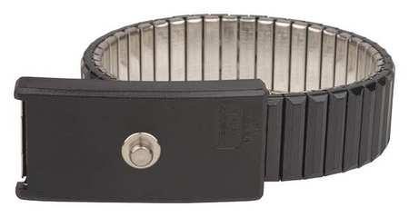 DESCO Brand 09041 Premium Metal Expanding Wristband, 4 mm Stud, UL Listed