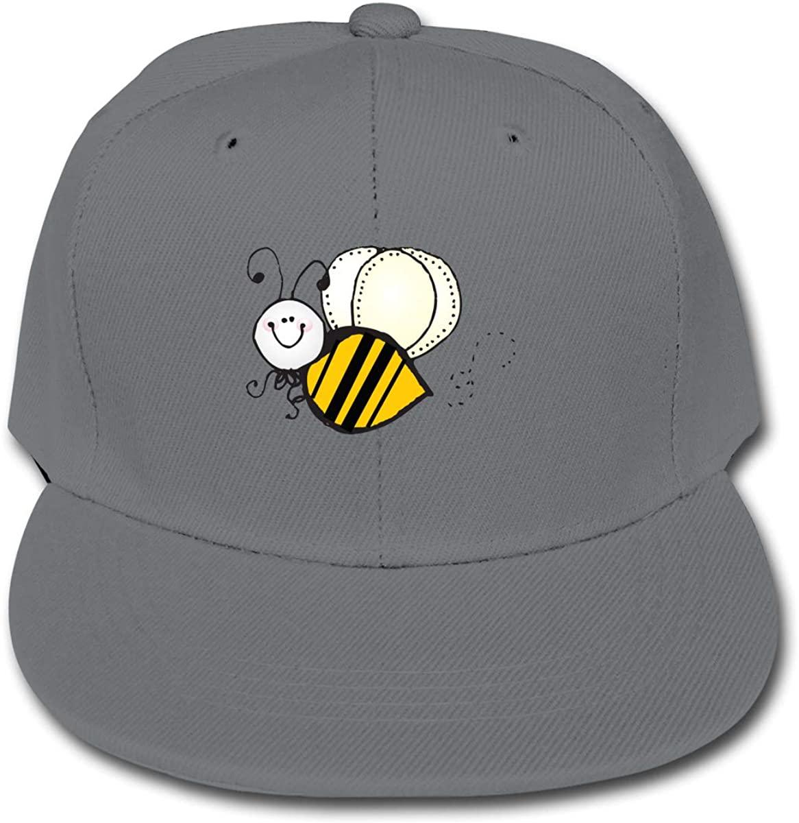 FHdbing Cute Bumblebee Adjustable Baseball Cap Hip Hop for Child
