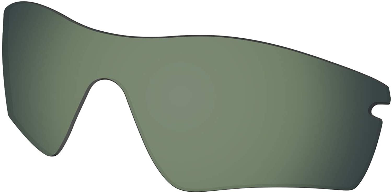Lenses Replacement for Oakley RadarLock Path Sunglass Polarized - Grey Green