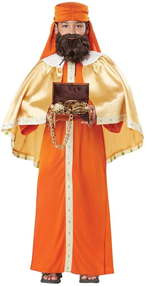 California Costume Gaspar, Wise Man Child Costume