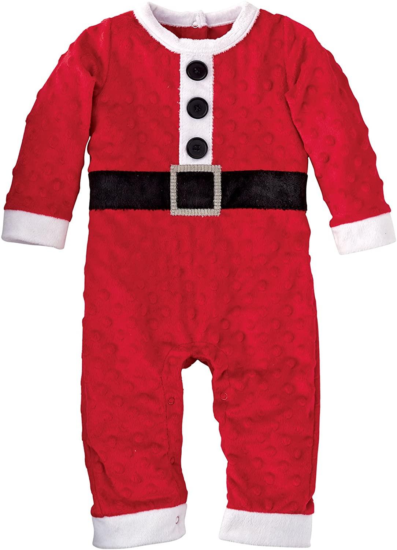 Mud Pie Baby-Boys Newborn Santa One Piece