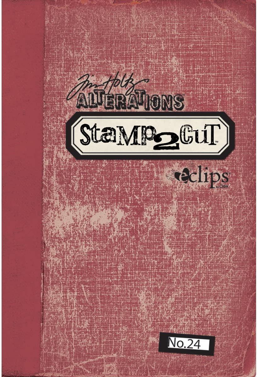 Sizzix eclips Cartridge - Tim Holtz Alterations Stamp2Cut No. 24