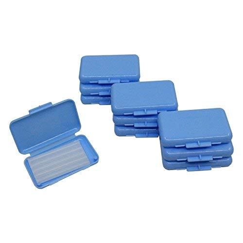 Teeth Wax Mint Orthodontic Braces Wax Fresh Breath Oral Care Kits 10 Packs