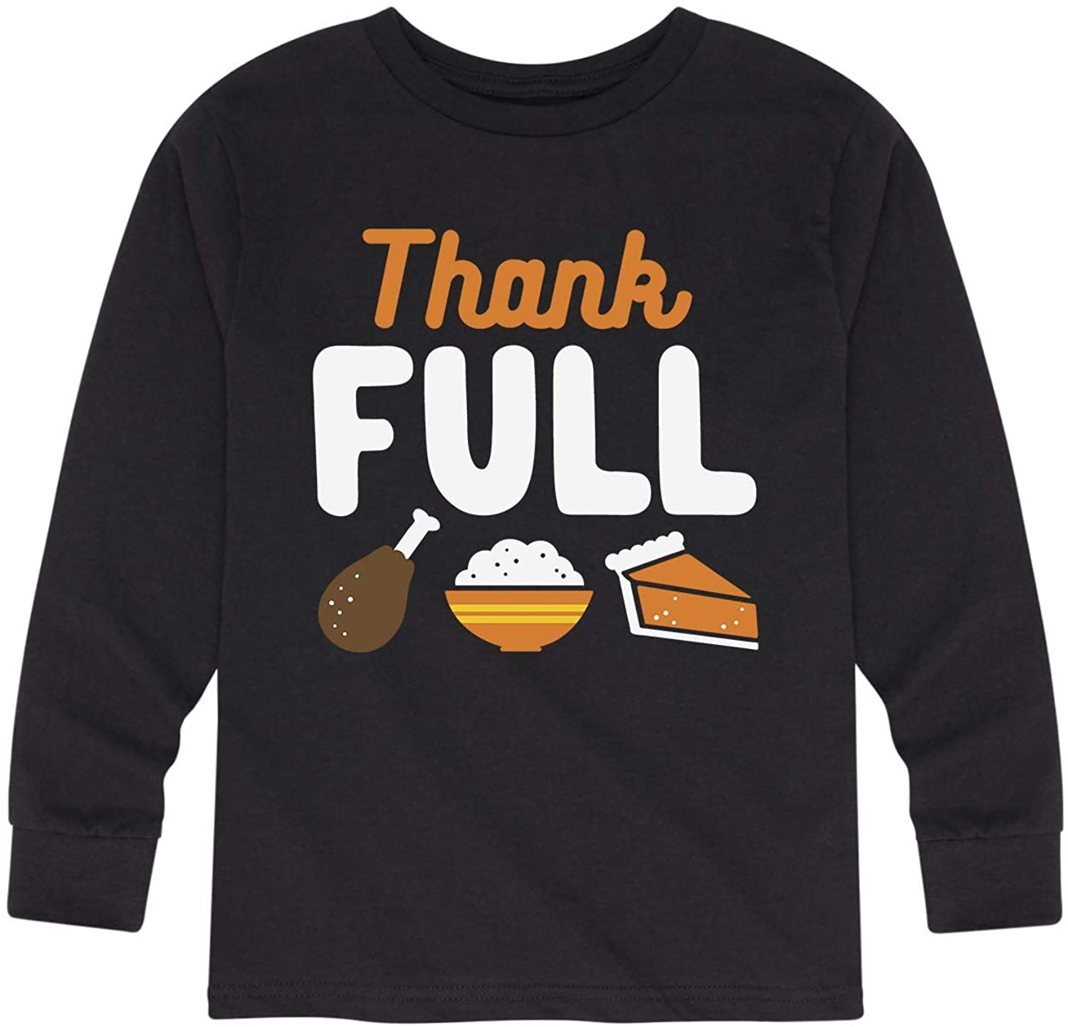 Instant Message Thank Full - Toddler Long Sleeve Tee
