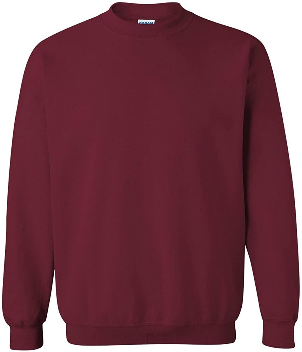 Gildan 18000 - Classic Fit Adult Crewneck Sweatshirt Heavy Blend - First Quality - Dark Chocolate - Large