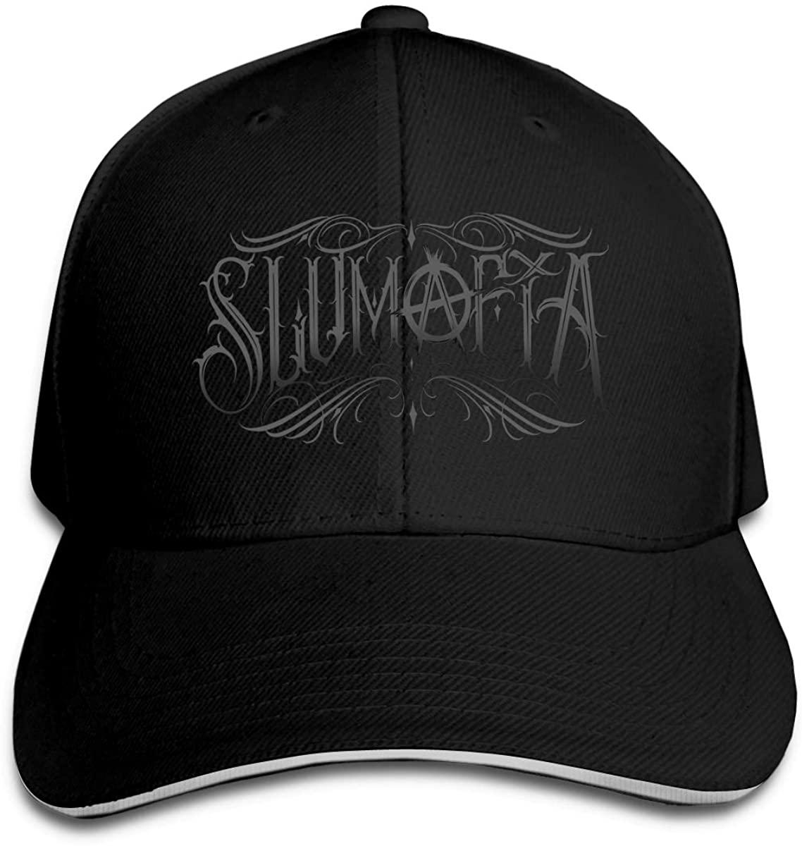 Yelawolf Hip Hop Baseball Cap Golf Trucker Baseball Cap Adjustable Peaked Sandwich Hat Black Unisex Casquette White