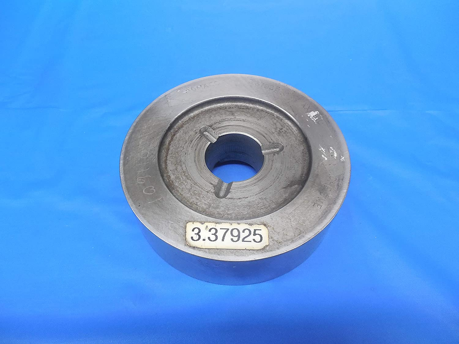 3.37925 Class XX Master Plain BORE Ring GAGE 3.3750 +.00425 Oversize 3 3/8 CL-XX