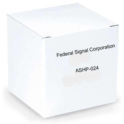 Federal Signal Speaker, Amplified, UL, 15 watt, 24VDC, Red