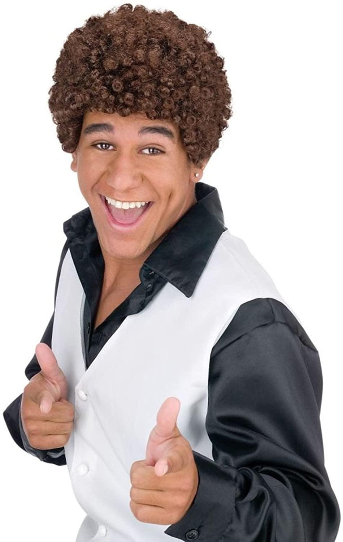 Jheri Curl Wig Costume Accessory