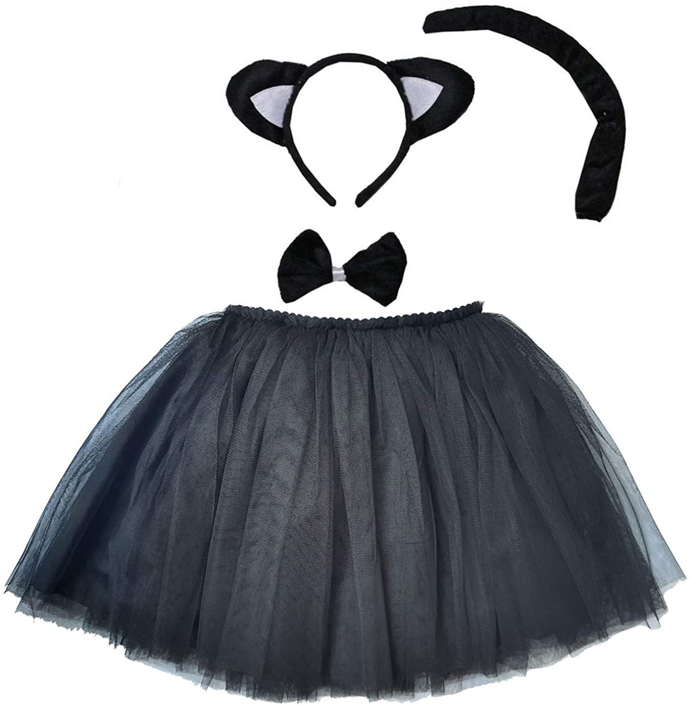 Kirei Sui Kids Costume Tutu Set Black Cat