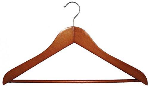 NAHANCO 2007-15C Wooden Shirt Hanger, 17