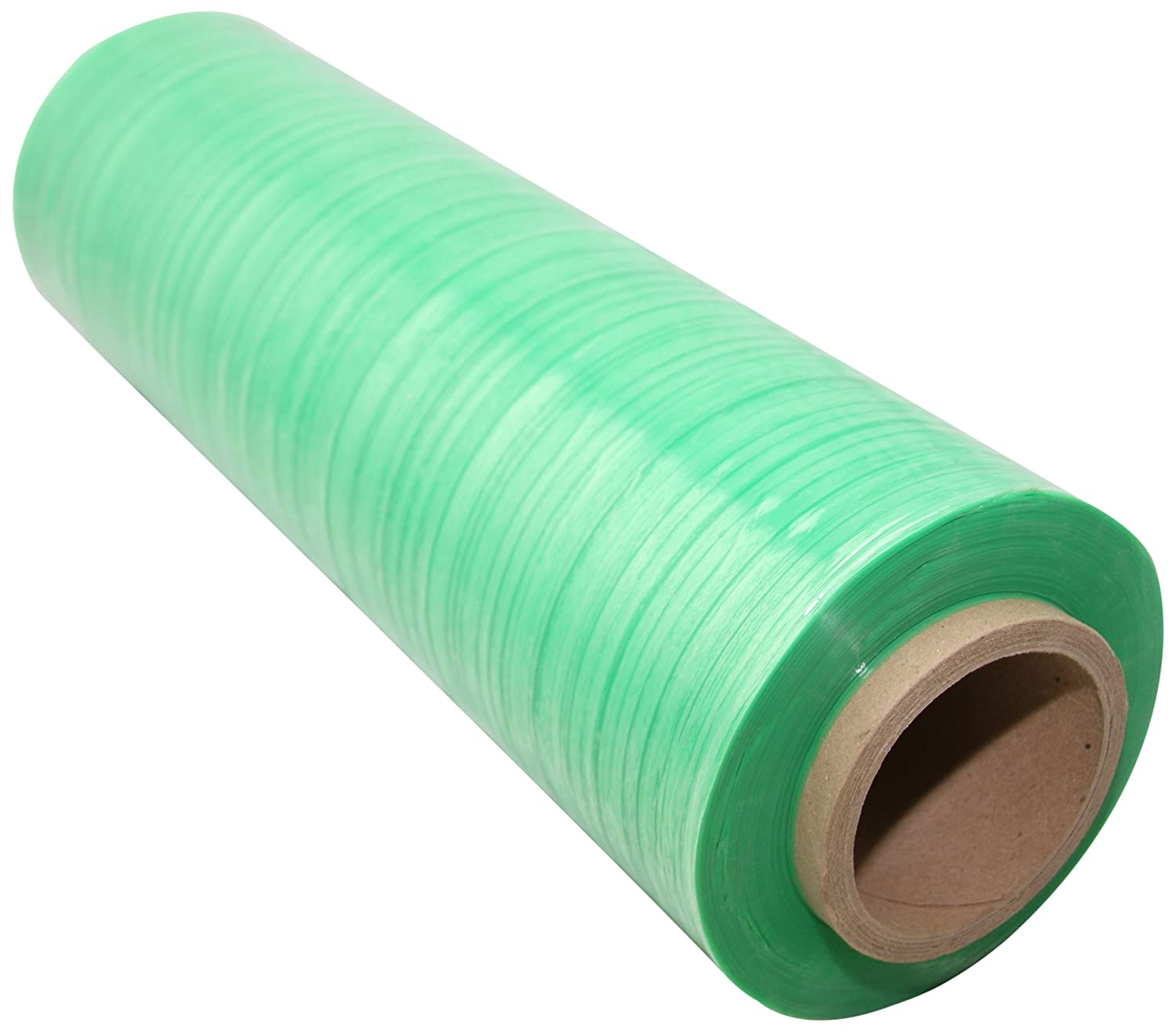Goodwrappers OXOV18904 Linear Low Density Polyethylene OXO Biodegradable Green Tint Cast Hand Stretch Wrap On a 3 I.D. Core, 1500 Length x 18 Width x 90 Gauge Thick (Case of 4)