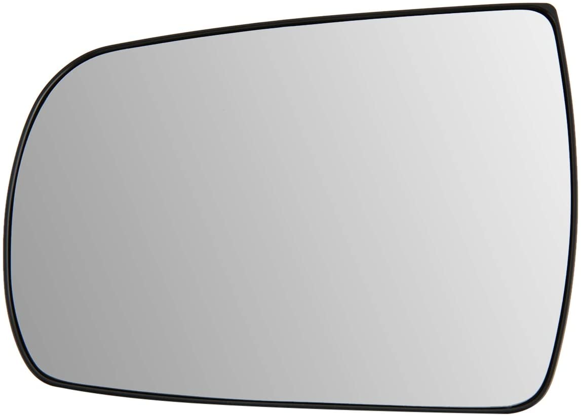 876111U100 OE Style Driver/Left Side Mirror Glass Lens w/Heated Replacement for Sorento 11-15