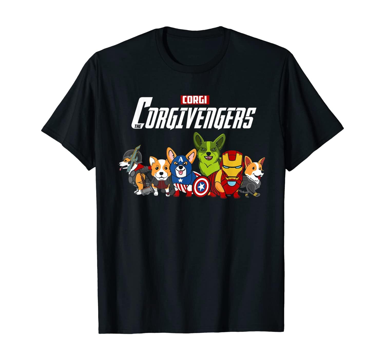 Corgivengers Shirt Corgi Avenger Corgi Shirt Dog Lover T-Shirt