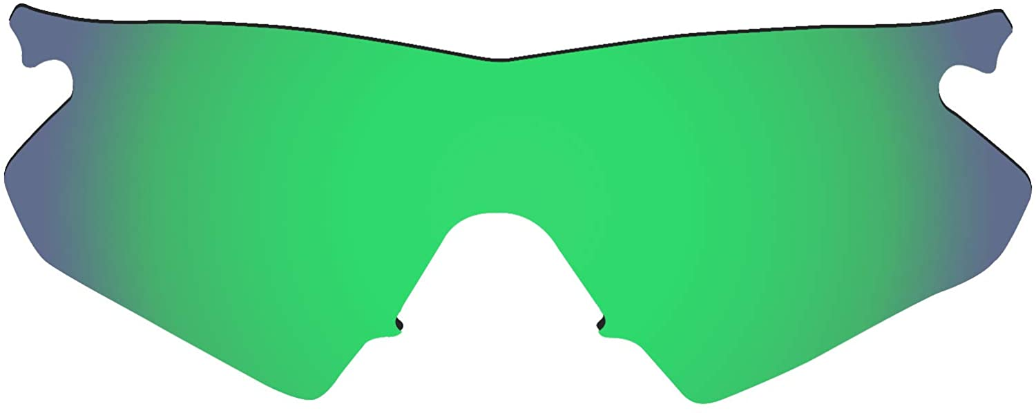 Replacement Lenses for Oakley M Frame Heater Sunglass - Polarized Green
