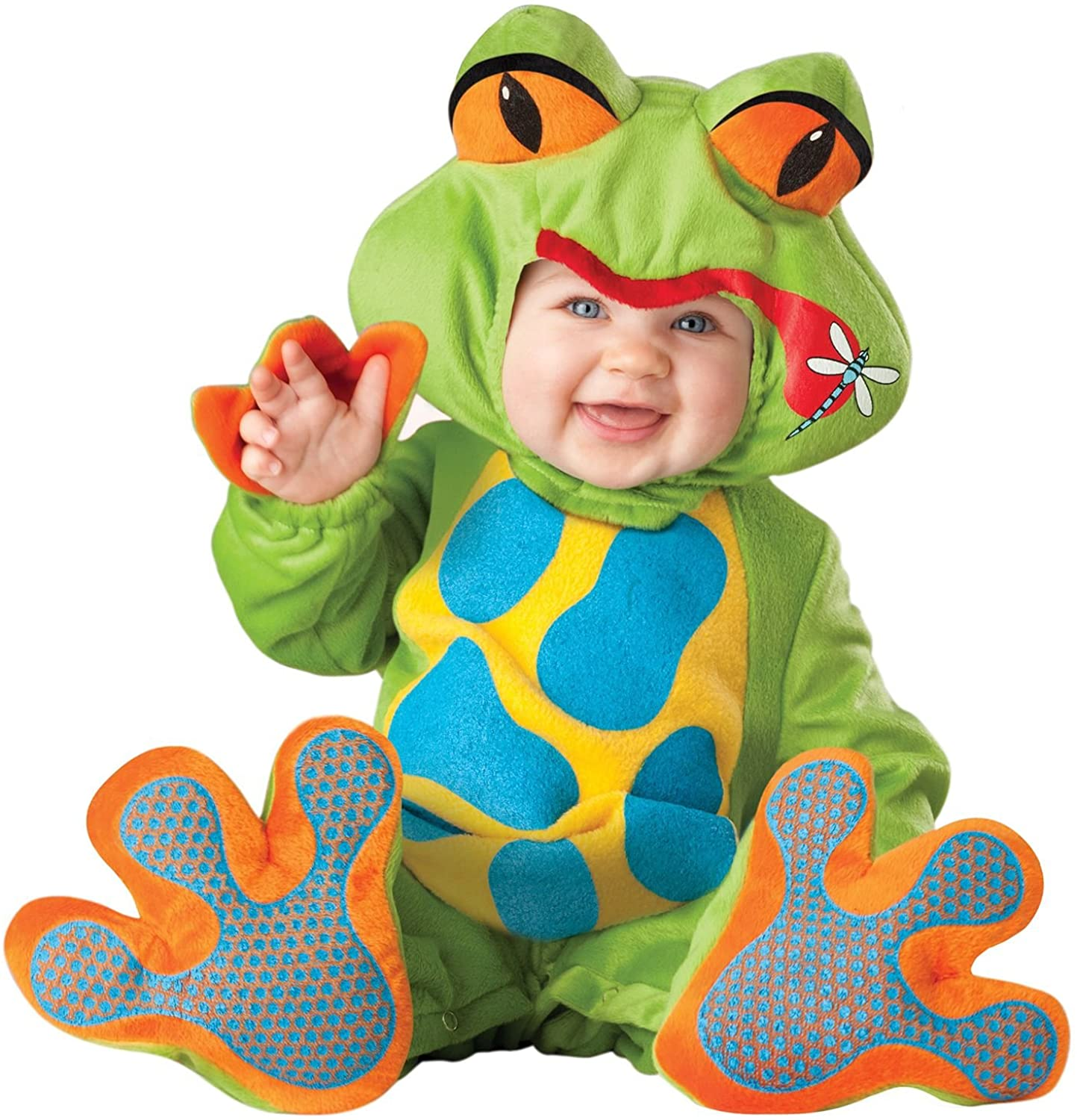 Lil Froggy Costume Green - Infant Small (6-12Months)