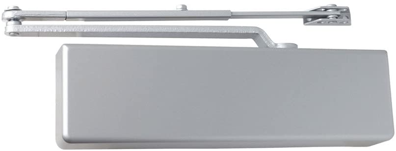 Dexter Commercial Hardware DCH1000-STD-FULL-RW/PA-ALUM, Heavy Duty Regular arm Surface Door Closers with Full Cover, 689/ALUM, Aluminum