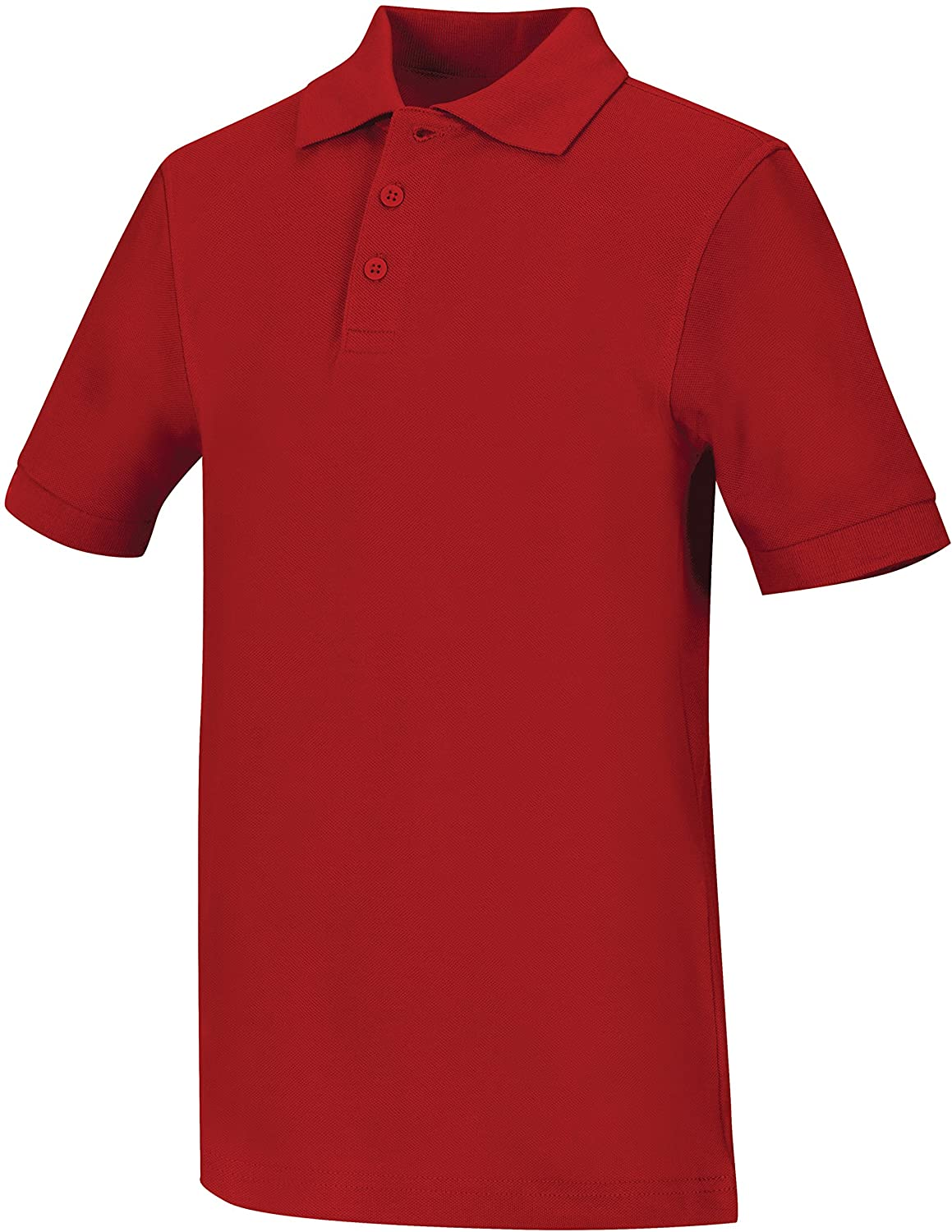 Classroom Big Boys' Uniform Pique Short Sleeve Polo