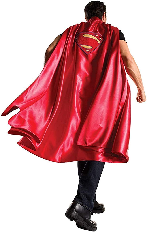 Rubie's Men's Batman V Superman: Dawn of Justice Deluxe Adult Superman Cape