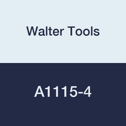 Walter Tools A1115-4 4 mm HSS NC Spot Drill, 2 mm Length of Cut, 18 mm Extension Length, 55 mm Overall Length
