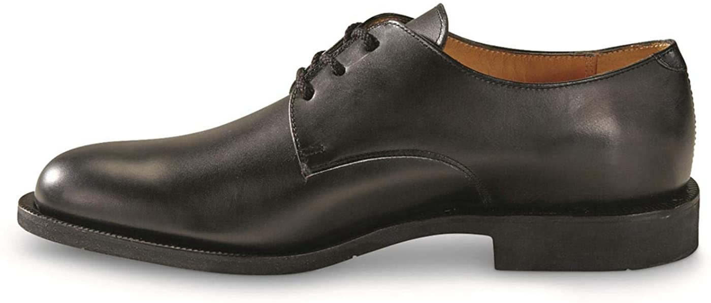 Surplus French Military Leather Dress Shoes, New