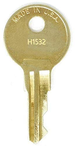 Hirsh Industries H1515 Replacement Keys: 2 Keys