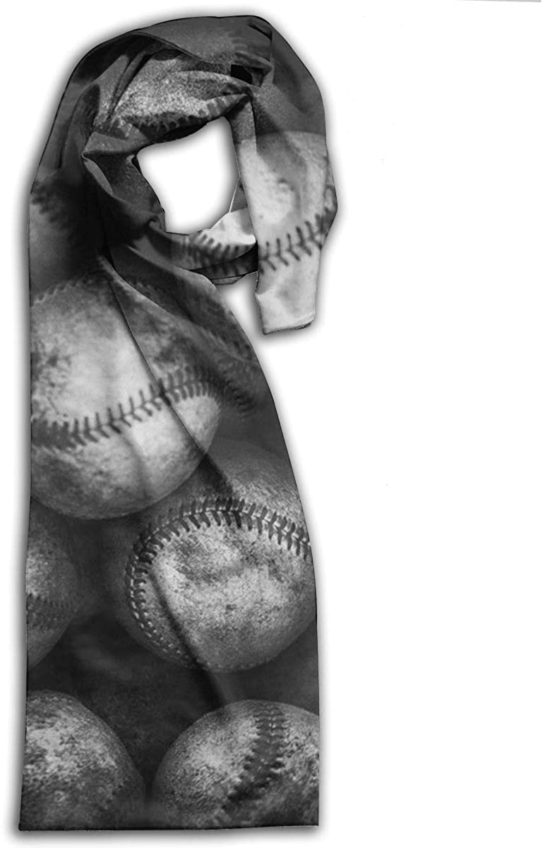 Adult Scarf,Baseball Wraps Beautiful Shawls Soft Scarves For Men And Women