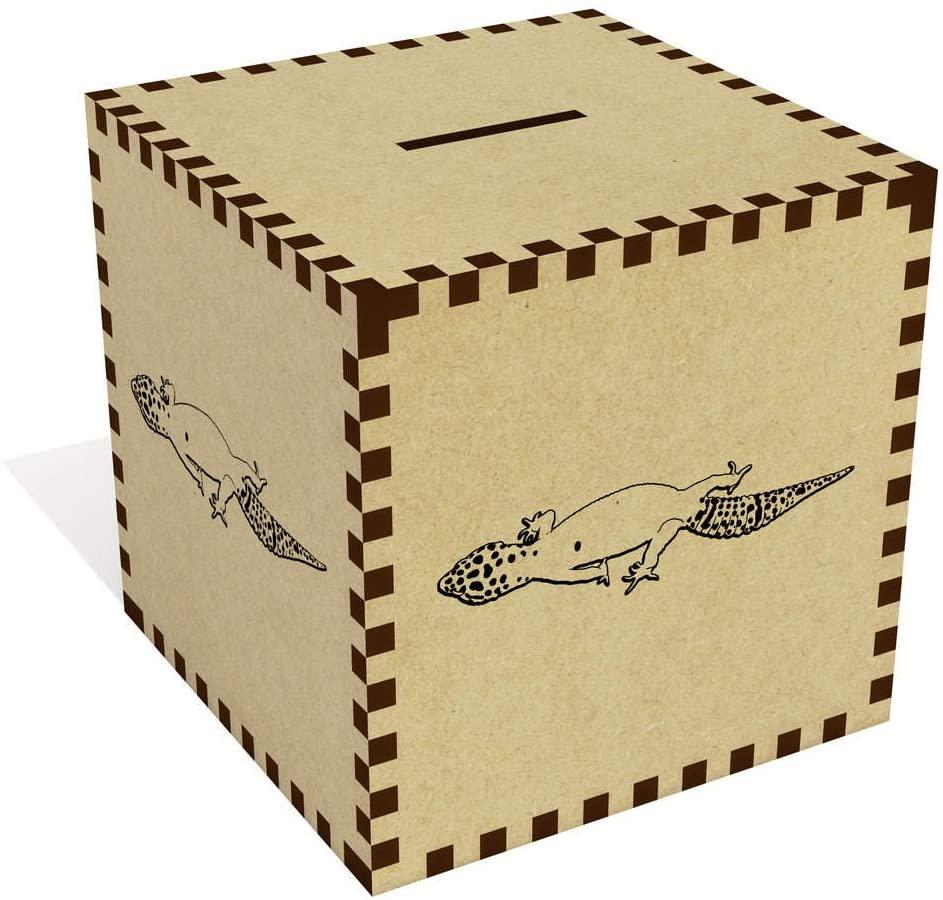 Azeeda Large 'Leopard Gecko' Money Box / Piggy Bank (MB00018491)