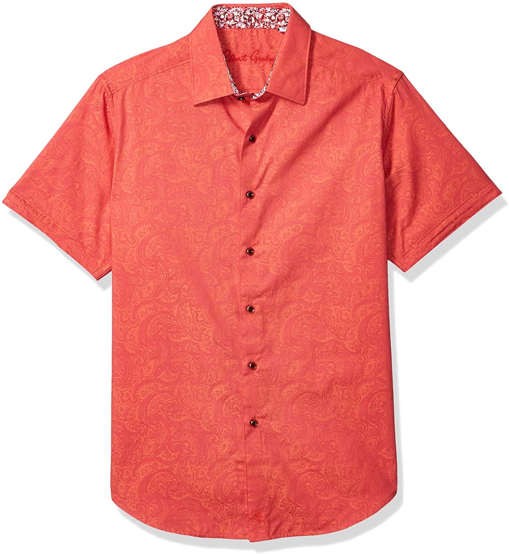 Robert Graham Men's New Garden S/S Woven Shirt
