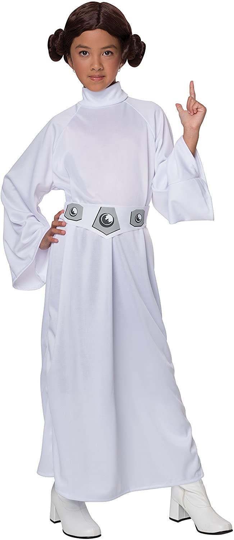 Star Wars Child's Deluxe Princess Leia Costume, Medium