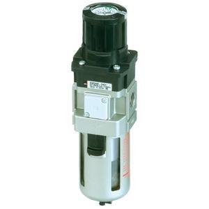 SMC AWG20-02G1-1C airline equipment - awg mass pro family awg mass pro 1/4 modular (pt) - filter regulator w/gauge