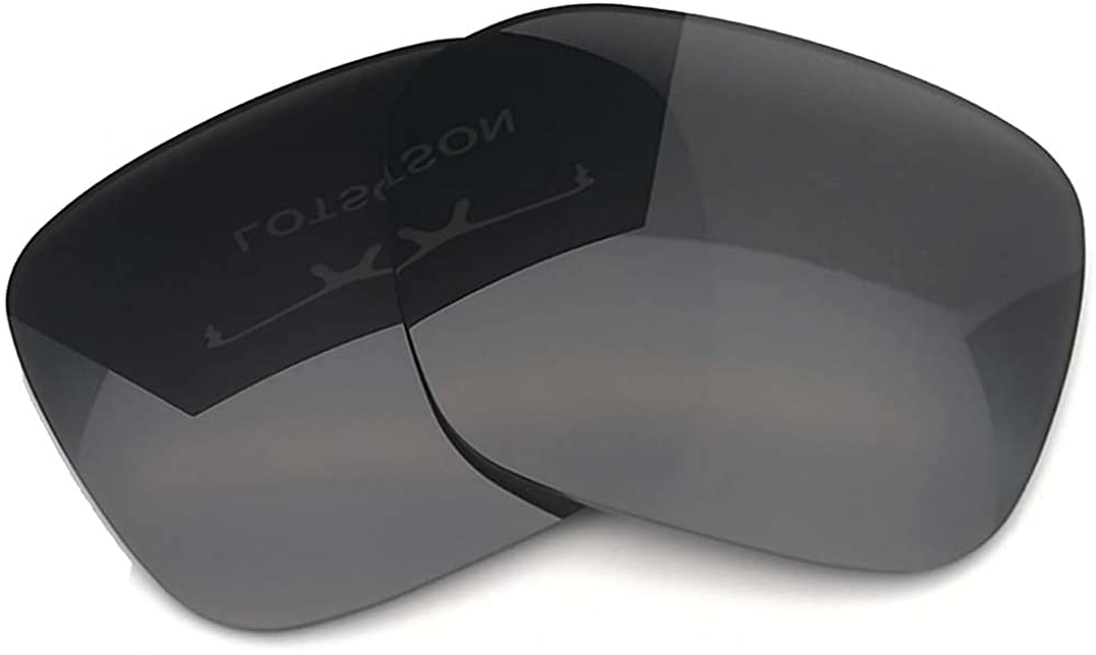 LOTSON Replacement for Stealth Black Polarized UV400 Lenses Oakley PROXY Sunglasses OO9312