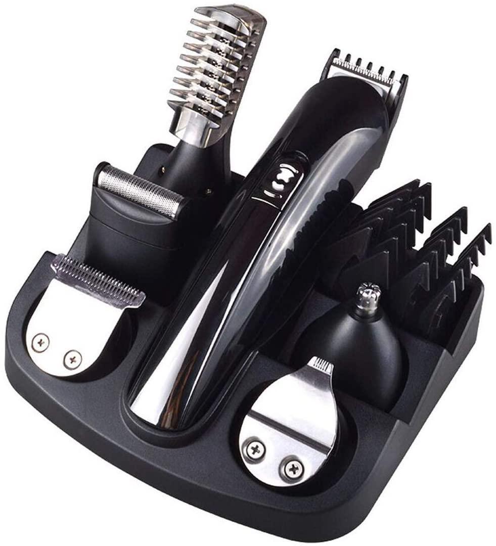 JIAW Cordless Hair Clipper Beard Trimmer Multi-Function Household Rechargeable Razor Adult Children Hair Clipper kit