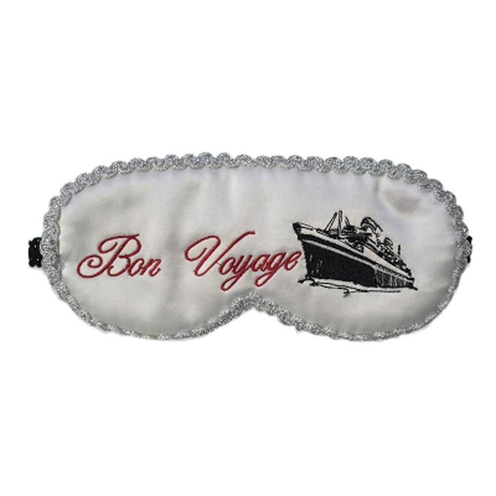 Beauty Cute Sleep Eye Mask Soft Eyeshade for Sleeping & Travel, Silvery