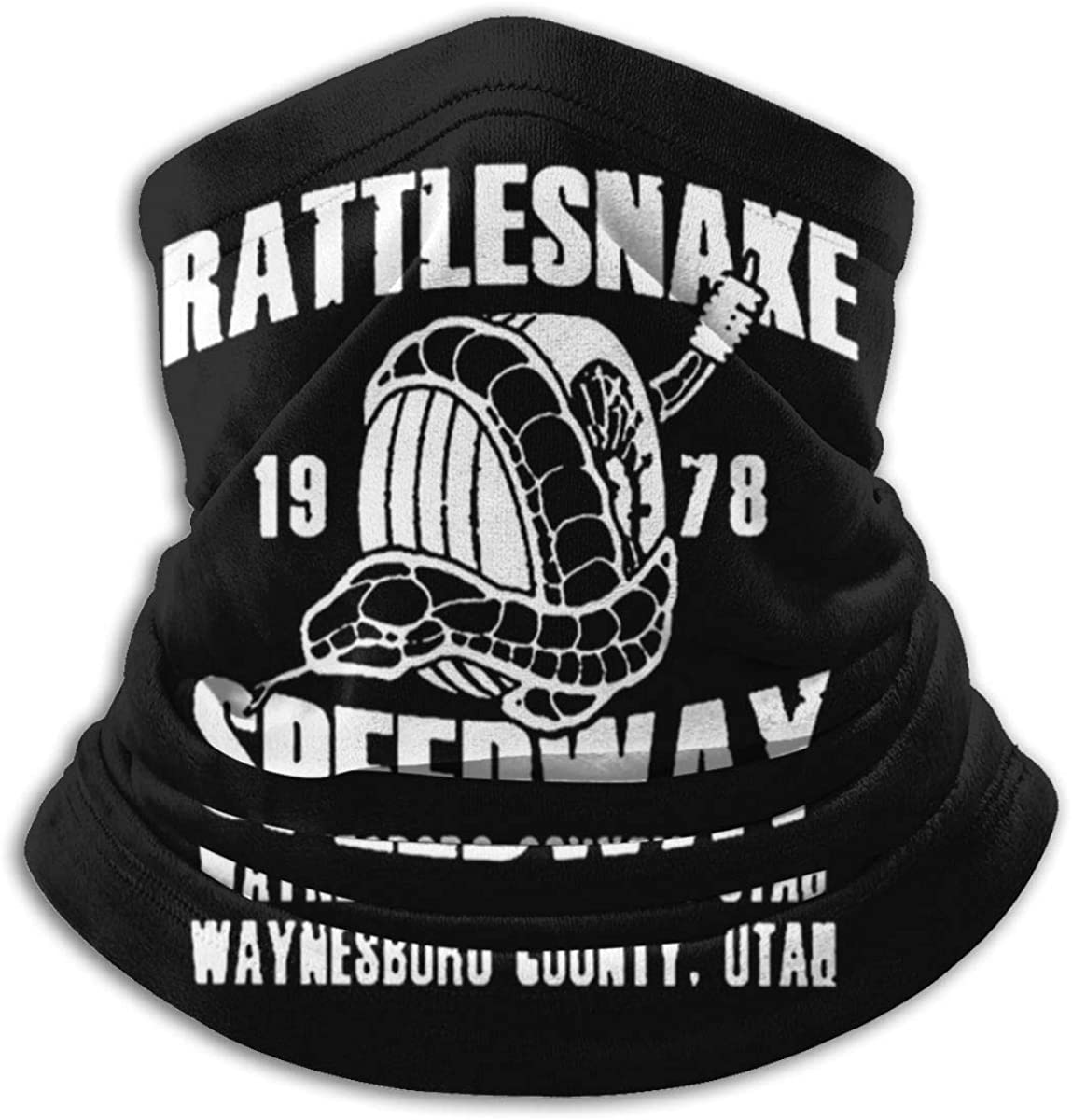 Men Women Face Mask Rattlesnake1978speedway Protection Mouth Cover Neck Bandanas For Washable Outdoor Dust Sun Resitant