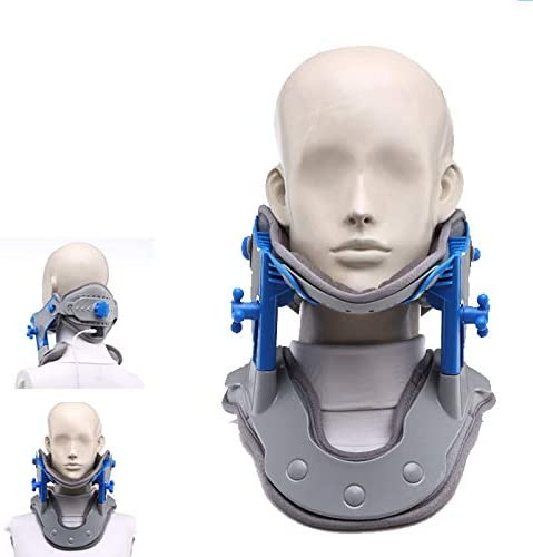WLIXZ Cervical Neck Traction Device for Travel/Home Spine Alignment, Shoulder Pain Relief, Collar Brace