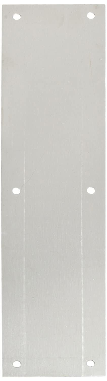 Rockwood 70B.28 Aluminum Standard Push Plate, Four Beveled Edges, 15