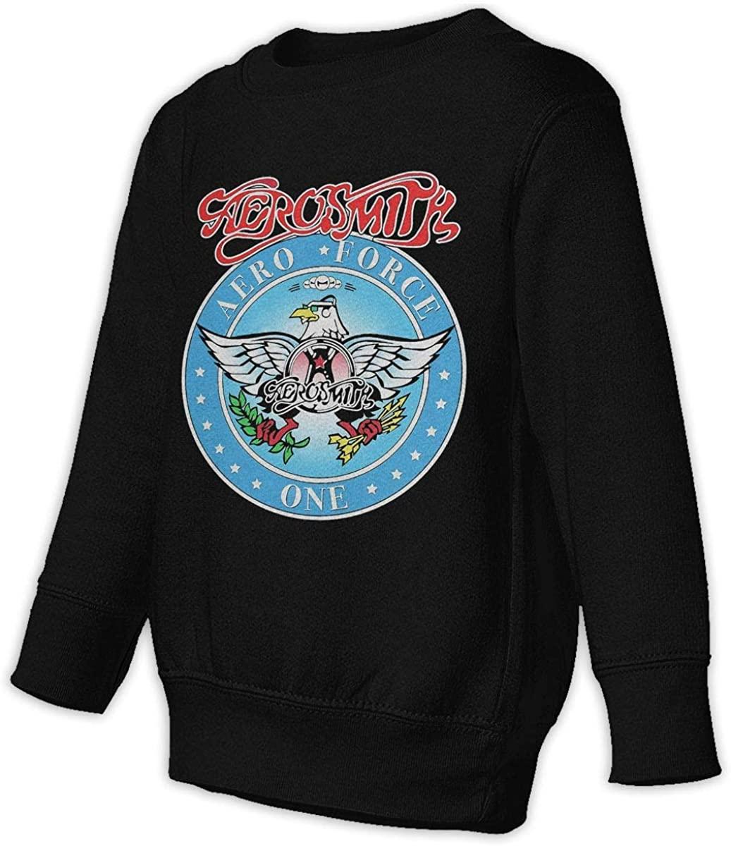 HUYAJGODGP-kiusdm Waynes World Aerosmith Unisex Sweatshirt Youth Boy and Girls Pullover Sweatshirt Black