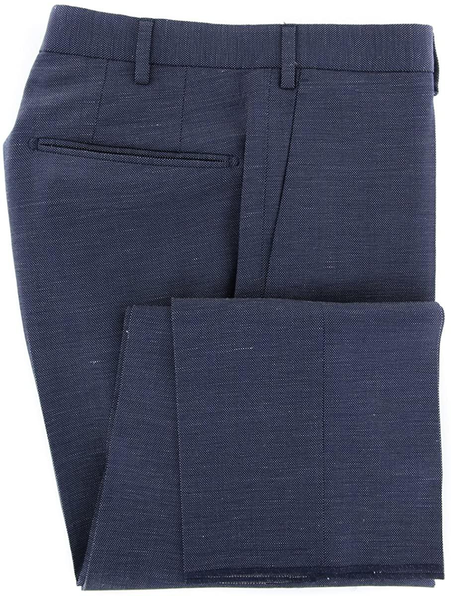 Incotex Dark Blue Melange Pants - Slim
