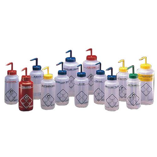 Bel-Art Products F11646-1132 1226B86PK Safety-Labeled Methyl Ethyl Ketone Wash Bottle, 1000 mL (Pack of 6)