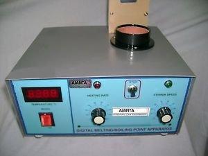 Ajanta AEI 10101 H Melting Point Apparatus Digital Aluminum Sky Blue