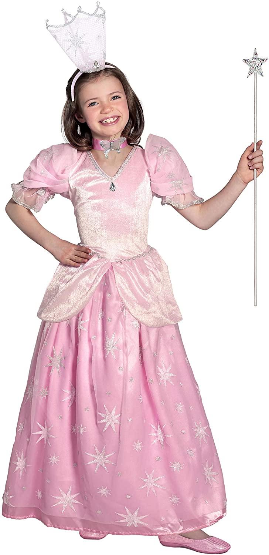 Princess Paradise The Wizard of Oz Glinda The Good Witch Pocket Princess Costume, Pink, Medium
